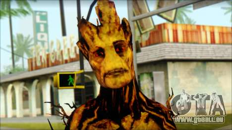 Guardians of the Galaxy Groot v2 für GTA San Andreas dritten Screenshot