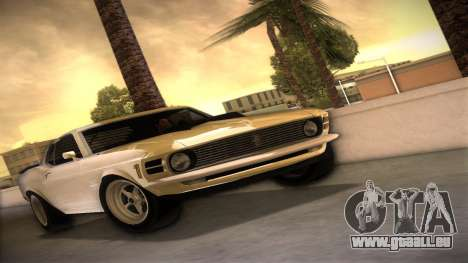 Ford Mustang 492 pour GTA Vice City
