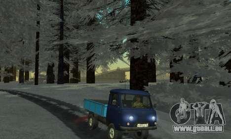 De la neige pour GTA Pénale de la Russie bêta 2 pour GTA San Andreas dixième écran