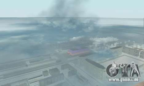 De la neige pour GTA Pénale de la Russie bêta 2 pour GTA San Andreas cinquième écran