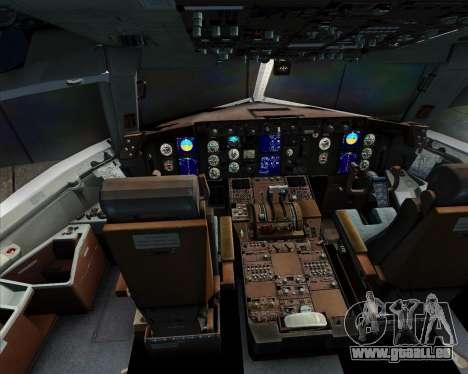 Boeing 767-300ER Qantas für GTA San Andreas Innen