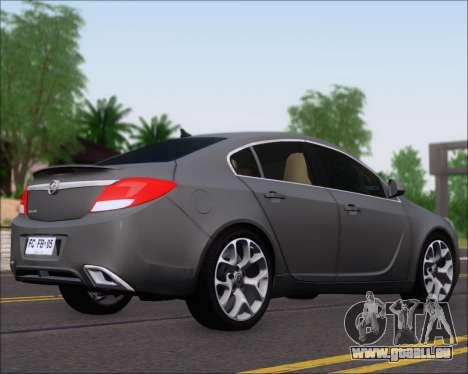 Opel Insignia OPC für GTA San Andreas