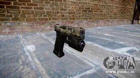 Pistole Glock 20 ghotex für GTA 4