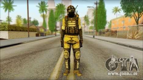 Mercenaire (SC: Blacklist) v1 pour GTA San Andreas