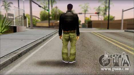 Shades Claude v1 pour GTA San Andreas deuxième écran