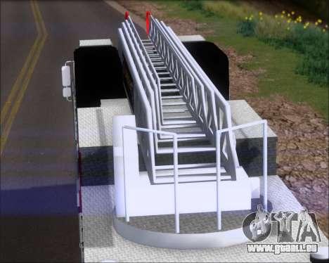 Pierce Arrow XT TFD Ladder 1 für GTA San Andreas zurück linke Ansicht