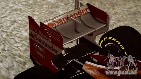 Ferrari F138 v2 für GTA 4 Seitenansicht