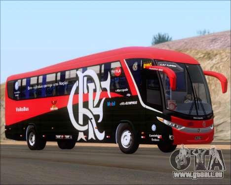 Marcopolo Paradiso 1200 G7 4X2 C.R.F Flamengo für GTA San Andreas zurück linke Ansicht