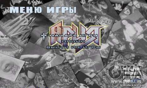 Menü Aria für GTA San Andreas zweiten Screenshot