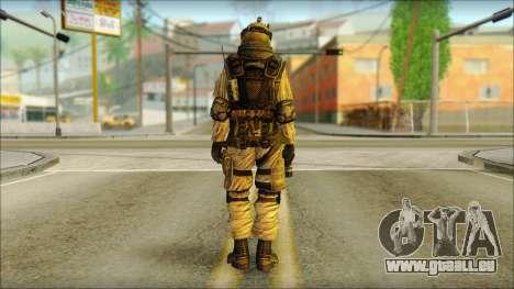 Mercenaire (SC: Blacklist) v3 pour GTA San Andreas deuxième écran