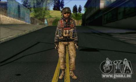 Task Force 141 (CoD: MW 2) Skin 16 pour GTA San Andreas