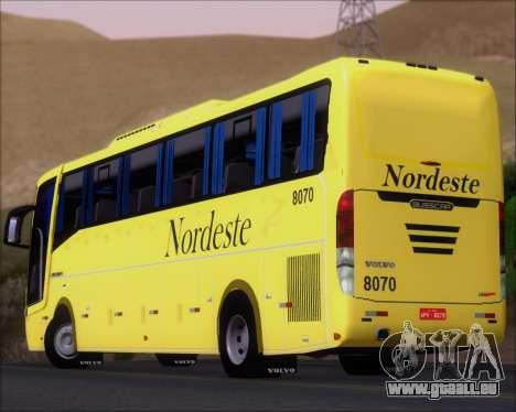 Busscar Elegance 360 Viacao Nordeste 8070 pour GTA San Andreas moteur
