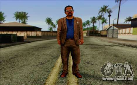 Willis Huntley from Far Cry 3 pour GTA San Andreas