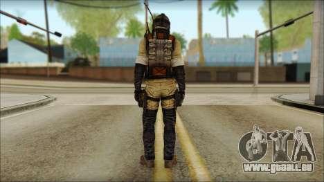 Mercenaire (SC: Blacklist) v1 pour GTA San Andreas deuxième écran