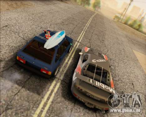 ВАЗ 2109 à Faible Classique pour GTA San Andreas laissé vue
