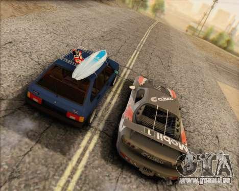 ВАЗ 2109 Niedrigen Classic für GTA San Andreas linke Ansicht