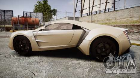 Lykan HyperSport für GTA 4 linke Ansicht