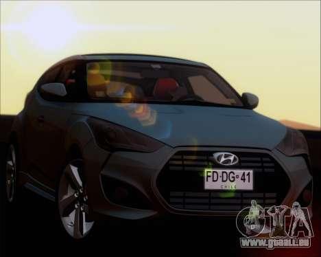 Hyundai Veloster 2013 für GTA San Andreas