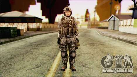 Kämpfer (PLA) v1 für GTA San Andreas