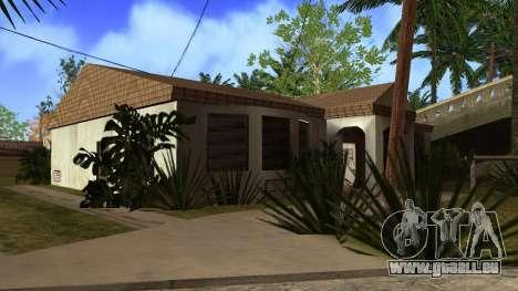 Neue HD-Texturen Häuser auf der grove street v2 für GTA San Andreas zehnten Screenshot