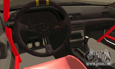 Nissan Skyline R32 Drift Monster Energy für GTA San Andreas rechten Ansicht