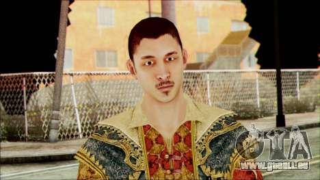 Suleiman from Assassins Creed pour GTA San Andreas troisième écran