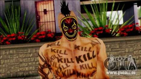 Manhunt Ped 16 für GTA San Andreas dritten Screenshot