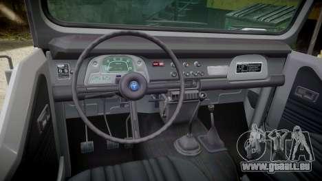Toyota FJ40 Land Cruiser Soft Top 1978 für GTA 4 Innenansicht