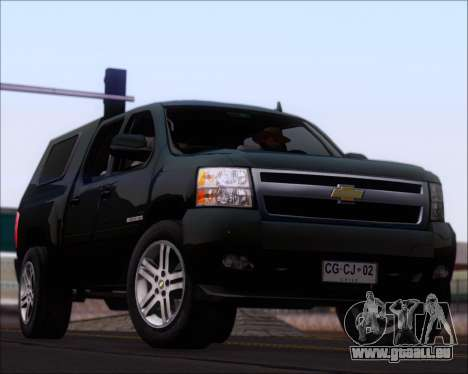 Chevrolet Silverado 2011 pour GTA San Andreas salon
