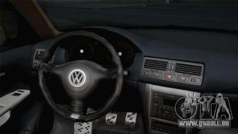 Volkswagen Golf 4 R32 Low v2 für GTA San Andreas zurück linke Ansicht