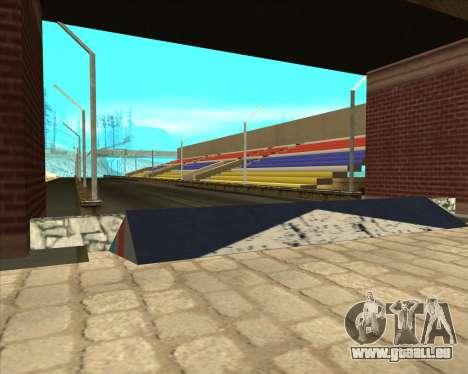 Sky Road Merdeka pour GTA San Andreas deuxième écran