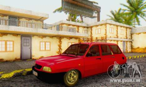Dacia 1310 Break WUC pour GTA San Andreas sur la vue arrière gauche