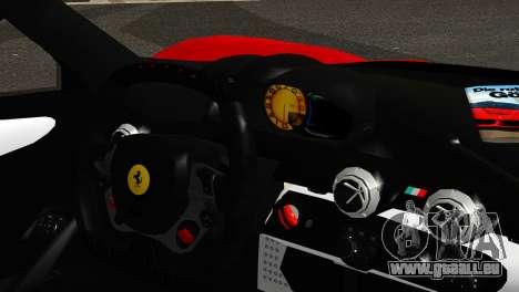 Ferrari LaFerrari 2014 (IVF) pour GTA San Andreas sur la vue arrière gauche