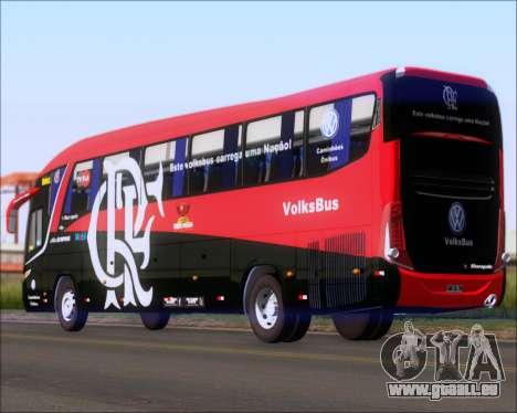 Marcopolo Paradiso 1200 G7 4X2 C.R.F Flamengo pour GTA San Andreas laissé vue