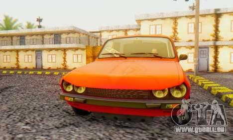 Dacia 1300 Tuned pour GTA San Andreas laissé vue