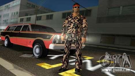 Camo Skin 08 pour GTA Vice City