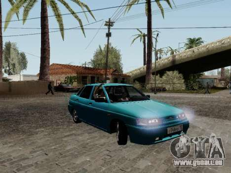 VAZ 2110 für GTA San Andreas obere Ansicht