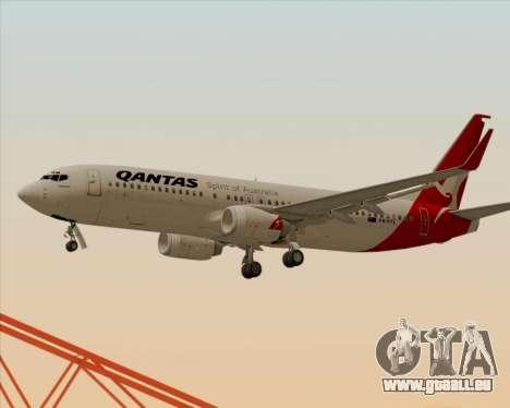 Boeing 737-838 Qantas für GTA San Andreas Räder