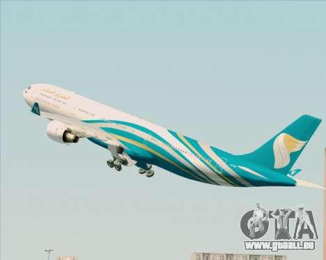 Airbus A330-300 Oman Air für GTA San Andreas Innen