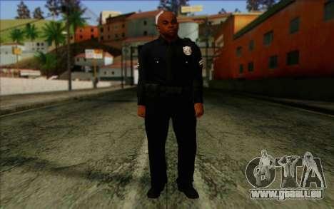 Polizei (GTA 5) Haut 3 für GTA San Andreas