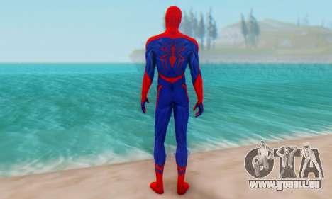 Skin The Amazing Spider Man 2 - Nueva Era für GTA San Andreas dritten Screenshot