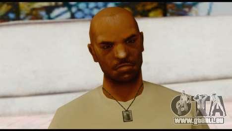 Army Vic pour GTA San Andreas troisième écran