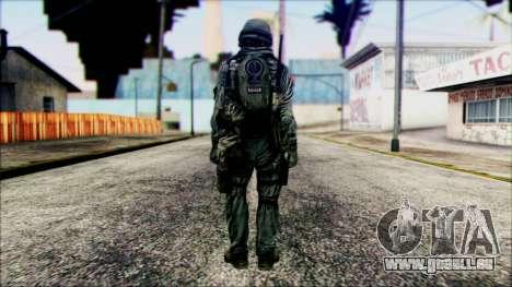Fighter (PLA) v5 pour GTA San Andreas deuxième écran