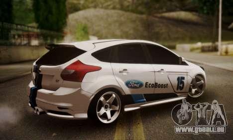 Ford Focus ST Eco Boost pour GTA San Andreas laissé vue