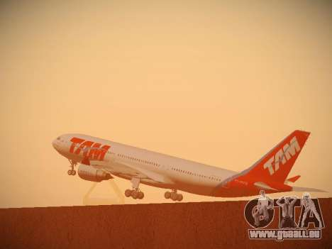 Airbus A330-200 TAM Airlines pour GTA San Andreas salon