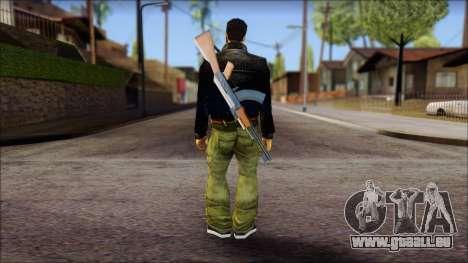 Shades and Gun Claude v2 pour GTA San Andreas deuxième écran
