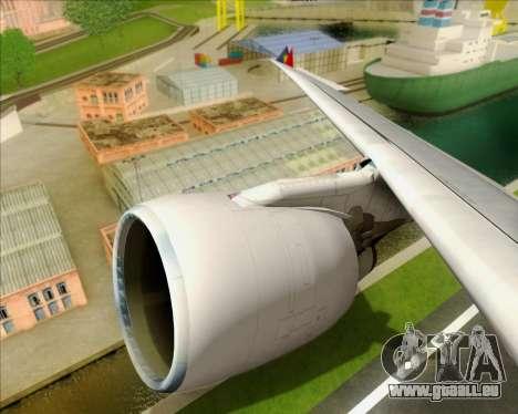Airbus A330-300 Philippine Airlines für GTA San Andreas Unteransicht