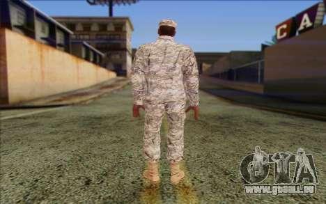 California National Guard Skin 5 pour GTA San Andreas deuxième écran