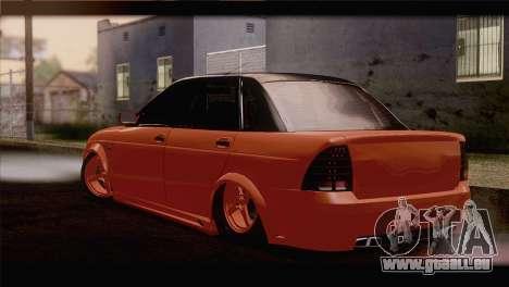 Installiert 2170 Priorin Orange für GTA San Andreas linke Ansicht