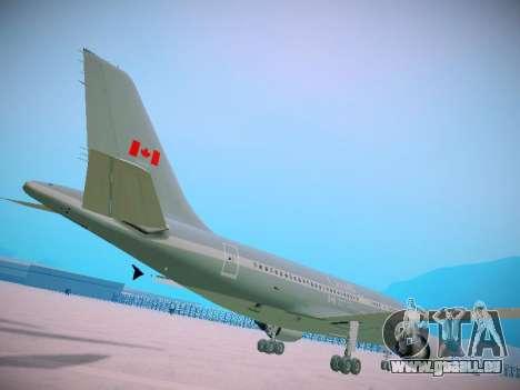 Canadian Forces Airbus CC150 Polaris pour GTA San Andreas vue arrière